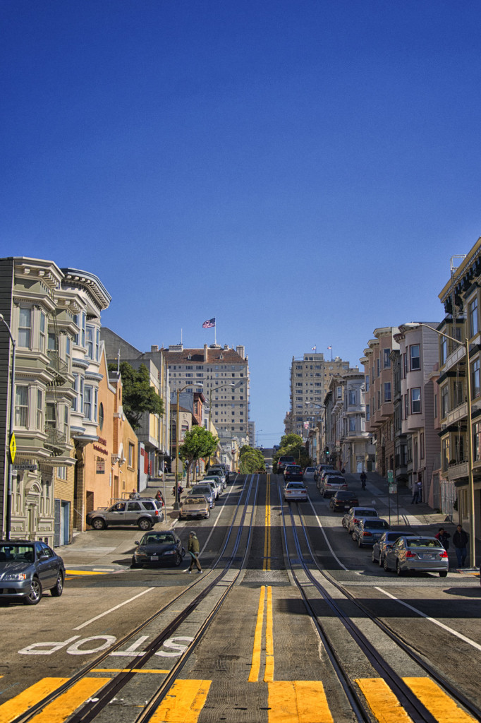 """Typowa"" ulica San Fransisco"