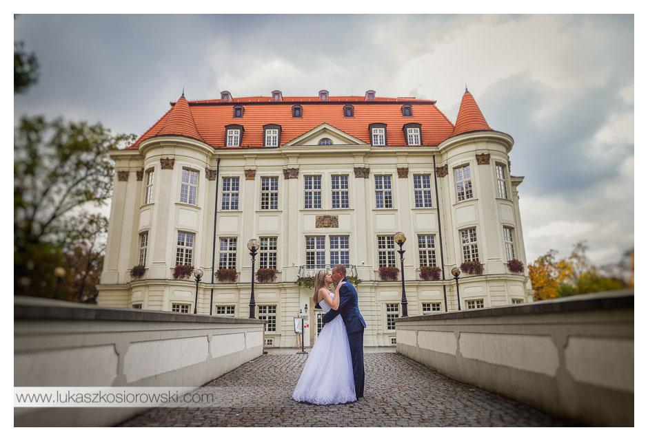 Reportaż i sesja plenerowa Agnieszka i Łukasz - Wrocław, Leśnica