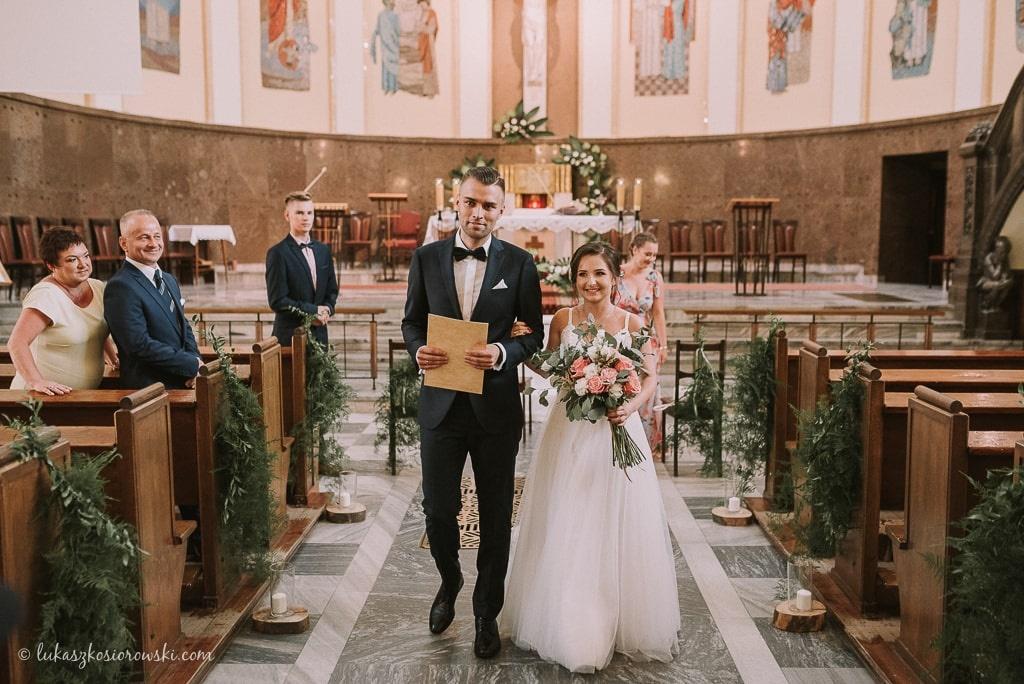 Reportaż Ślubny - Azyl Kąty Wrocławskie - Łukasz Kosiorowski